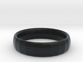 Ring in Black Hi-Def Acrylate