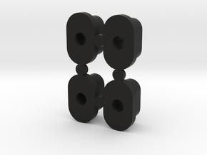 Front End Slugs for the KSG Ultimate Front End in Black Natural Versatile Plastic