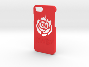 Iphone 7 RWBY Case in Red Strong & Flexible Polished