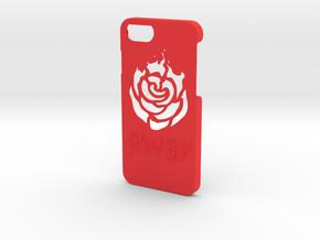 Iphone 7 RWBY Case in Red Processed Versatile Plastic