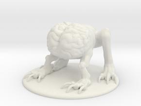 Intellect Devourer Miniature in White Natural Versatile Plastic: 1:60.96