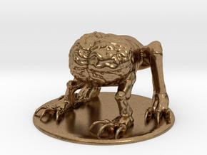 Intellect Devourer Miniature in Natural Brass: 1:60.96