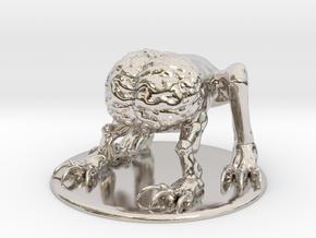 Intellect Devourer Miniature in Rhodium Plated Brass: 1:60.96