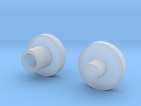 Bearing Plugs in Smooth Fine Detail Plastic