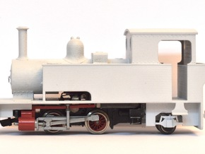 "WHR Ltd. Bagnall 3050 ""Gelert"" (009 Scale) in Frosted Ultra Detail"