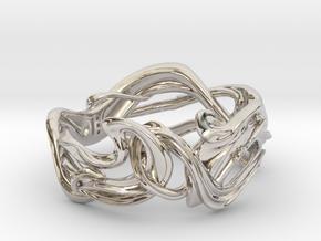 Art Nouveau Ring #1 in Platinum: 5 / 49