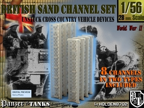 1-56 British Sand Channel Set in Frosted Ultra Detail