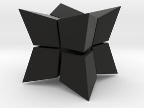 Cube inward 2*2*2 in Black Strong & Flexible: Medium