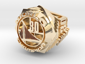 Curry championship Ring in 14K Gold