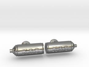 Spray Paint Can Cufflinks - Custom in Polished Silver