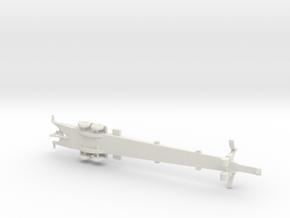 1/200 Scale Thor Missile Trailer in White Natural Versatile Plastic