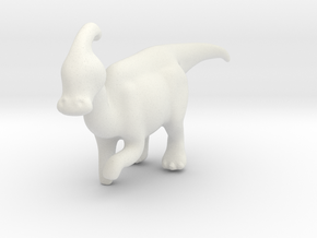 MLParasaurolophus in White Strong & Flexible