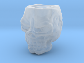 Skull bead in Smooth Fine Detail Plastic