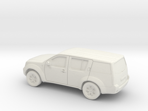 1/87 2004-13 Nissan Pathfinder in White Natural Versatile Plastic