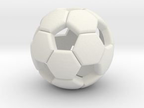 Soccer ball 1505081058 in White Natural Versatile Plastic