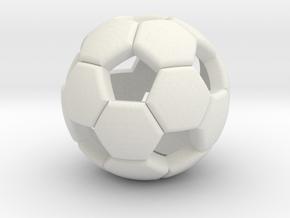 Soccer ball 1505081058 in White Strong & Flexible