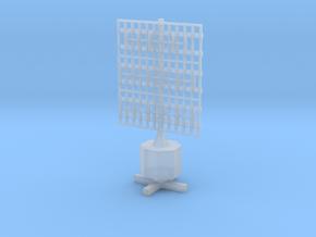 1/144 Scale German Pole Freya Radar in Smooth Fine Detail Plastic