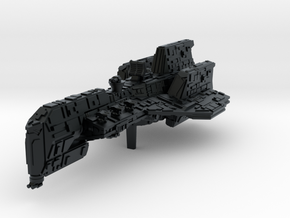 (Armada) Crusader Corvette in Black Hi-Def Acrylate