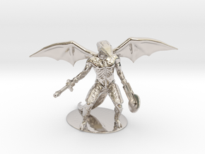 Repto Miniature in Rhodium Plated Brass: 1:60.96