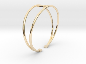BRACELET MAGNETIC LOBULAR in 14K Yellow Gold