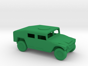 1/200 Scale M1025 Humvee APC in Green Strong & Flexible Polished