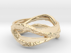 Full Dual Stone Ring in 14K Yellow Gold: 5 / 49
