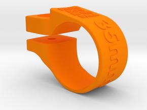Lezyne 35mm Light Mount MEGA in Orange Strong & Flexible Polished