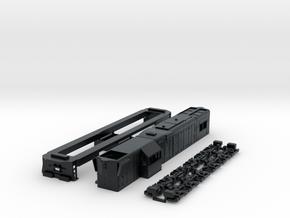 GR12 FCAB Version HO scale in Black Hi-Def Acrylate
