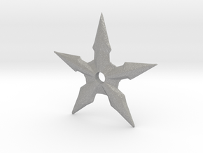 Throwing Star in Aluminum