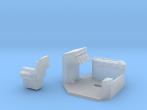 Case IH 9370 Interior in Smooth Fine Detail Plastic