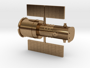 012I Hubble Partially Deployed - 1/500 in Natural Brass