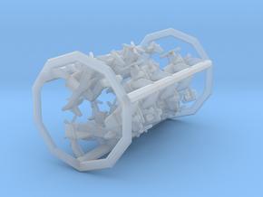 F8F-2 w/Gear x12 (FUD) in Smooth Fine Detail Plastic: 1:700