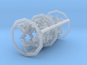 F8F-2 w/Gear x12 (FUD) in Smooth Fine Detail Plastic: 1:600