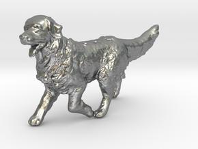 1/24 Running Golden Retriever Male in Natural Silver