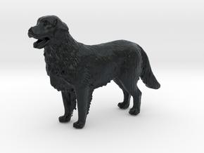 1/[24, 35] Golden Retriever Scale Model for Dioram in Black Hi-Def Acrylate: 1:24