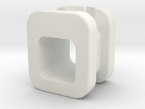 Apple Watch Charging Adapter in White Natural Versatile Plastic