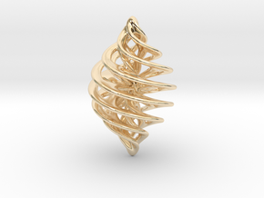 Entanglement Bauble in 14k Gold Plated Brass
