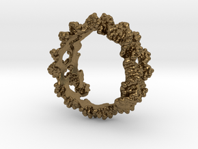 DNA Ring in Natural Bronze: 5 / 49