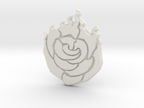 Ruby Rose Buckle in White Natural Versatile Plastic