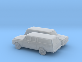 1/160 2X 1967-70 Chevrolet Suburban in Smooth Fine Detail Plastic
