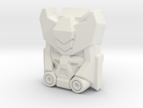 Deadend, Construct-Bots Face (Titans Return) in White Strong & Flexible