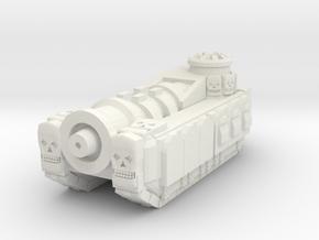 Warpedcannon in White Natural Versatile Plastic