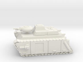 Armoured Frog in White Strong & Flexible