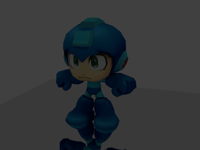 Megaman in Full Color Sandstone
