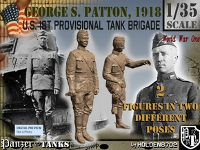 1-35 George S Patton 1918 in Frosted Ultra Detail