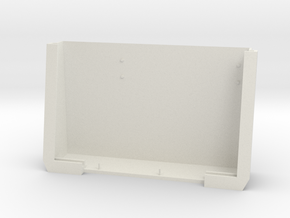 ScreenCase in White Natural Versatile Plastic