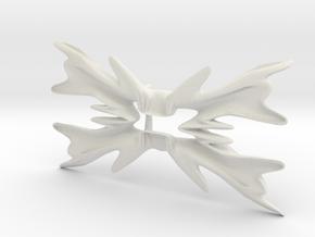 Bowtie flower in White Strong & Flexible