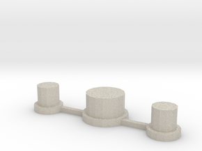 NLPWM 1.2 Buttons Only in Natural Sandstone