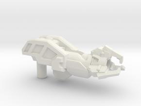 Energon Repair Ray (WFC), 5mm in White Natural Versatile Plastic