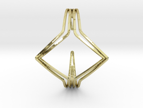 YOUNIVERSAL YY Bracelet, Medium Size, 65mm RR-prof in 18k Gold Plated: Medium